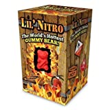 LIL' NITRO (3-Pack) The World's Hottest GUMMY BEAR! - Extreme Spicy Candy - Red Gummy