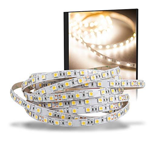LED Strip 5050 blanc neutre (4000K) 72W 500CM 24V IP20