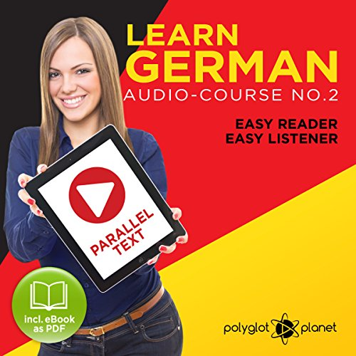 Learn German Easy Reader | Easy Listener  audiobook cover art