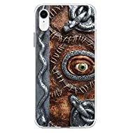 Compatible with iPhone Case Transparent Soft TPU Flexible Corver Case 11 Cover Hocus Pocus Spell Book