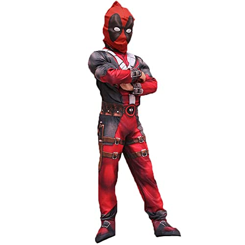 Hallowmax Deadpool Deluxe Child Boys Costume Cosplay Outfits ae20ebc19