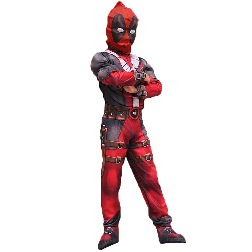 Hallowmax Deadpool Costume Cosplay Outfits