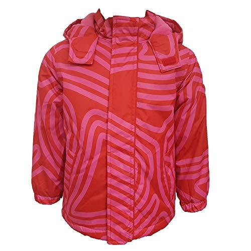 Outburst - meisjesjas Anorak winterjas met capuchon en fleece, rood - 6820417