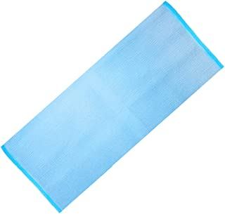 Prettyia 1 Piece Nylon & Polyester Beauty Skin Bath Wash Cloth/Towel, Yellow/Green/Blue/Rose Red For Your Choice - Blue