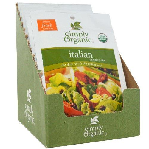 Simply Organic Italian Salad Dressing Mix ( 12x.7 OZ)