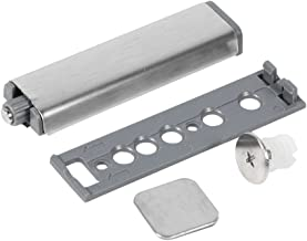 4 st rostfritt stål touch dörr stängningsbuffert, dörrlåda, lådgångjärn, tryckfrigöringssystem Punta magnetica
