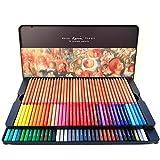 Berrd 24/36/48/72/100 Colores Juego de lápices lapices de Colores Profesionales crayones para Colorear Juego de lápices de Dibujo al por Mayor - 72 Colores
