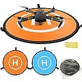 Sipobuy Universelle Étanche Portable Pliable Drone Aires D'atterrissage/Tablier, Applicable RC Drones Hélicoptère, PVB Drones, DJI Mavic Pro Phantom 2/3/4 Pro, Antel Robotique, 3DR Solo (75cm)