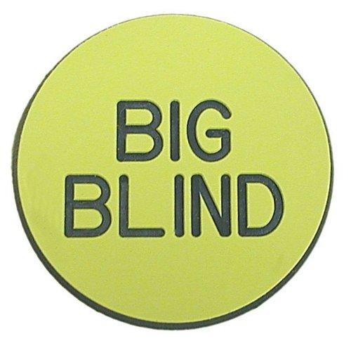 Trademark Poker Big Blind Button for Poker Game