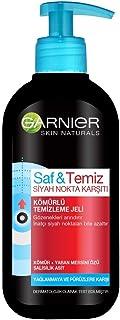 Garnier Skin Naturals Saf & Temiz Siyah Nokta Karşıtı Kömürlü Temizleme Jeli 200 ml 1 Paket (1 x 200 ml)