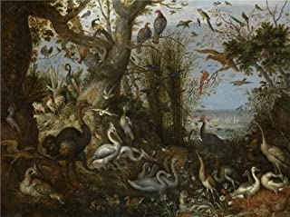 'Roelant Savery,Poultry,1576-1639' Oil Painting, 10x13 Inch / 25x34 Cm ,printed On Perfect Effect Canvas ,this Best Price Art Decorative Canvas Prints Is Perfectly Suitalbe For Nursery Decoration And Home Gallery Art And Gifts
