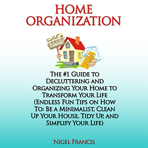Home Organization audiobook cover art