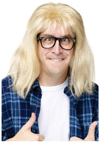 Fun World SNL Garth Algar Wig Standard