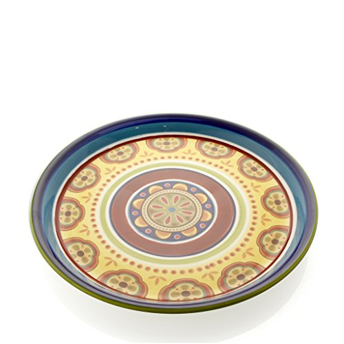 Brandani Bandeja redonda de Ironstone, multicolor, talla única