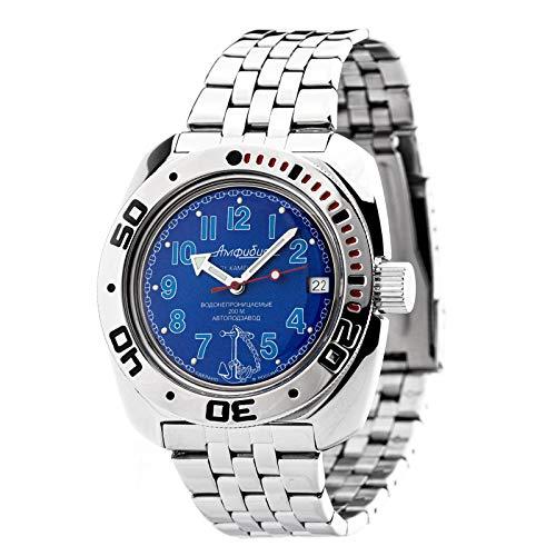 VOSTOK Wostok Amphibian 2416/710382 Military Taucheruhr 200m Automatik russische mechanische Uhr aus Russland