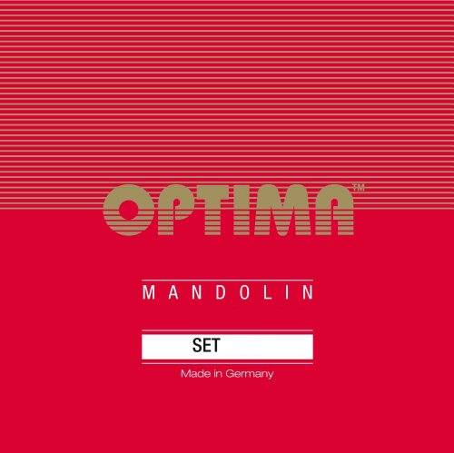 Optima 2135 Mandoline FLATWOUND Strings Set medium, Loop End
