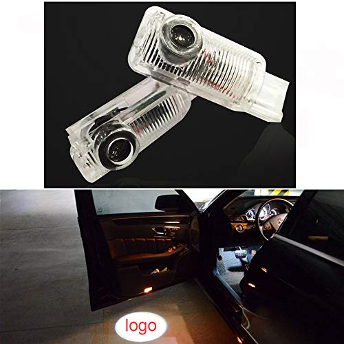 Cszlove LED Projection Logo Lights Ghost Shadow Car Door Welcome Light DIY Step Light Works with 2007-2010 R300 R350, 2007-2010 ML300 ML350-1 Pair
