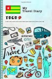 Togo My Travel Diary: Kids Guided Journey Log Book 6x9 - Record Tracker Book For Writing, Sketching, Gratitude Prompt - Vacation Activities Memories Keepsake Journal - Girls Boys Traveling Notebook