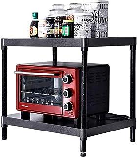DJSMsnj Étagère de cuisine multifonction à 2 étages pour four à micro-ondes