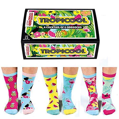 united oddsocks tropicool socks 6