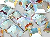 スワロフスキー #2400 正方形・台形 クリスタルオーロラ 4mm 10粒入り