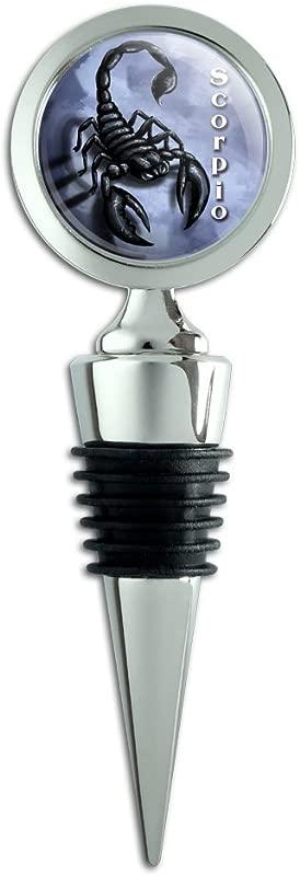 Scorpio Zodiac Wine Bottle Stopper