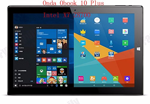 Onda Obook 10 Plus 10.1 inch Windows 10+Android 5.1 Intel Atom X7 Quad core 4GB RAM 64GB ROM 19201200 WiFi IPS Tablet PC