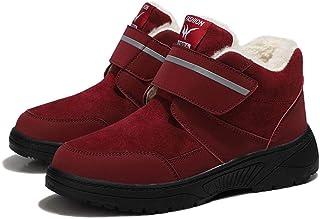 B/H Sandales Respirant Chaussures Réglables,Chaussures d'hiver Velcro pour Les Personnes âgées, Plus Chaussures de Marche ...