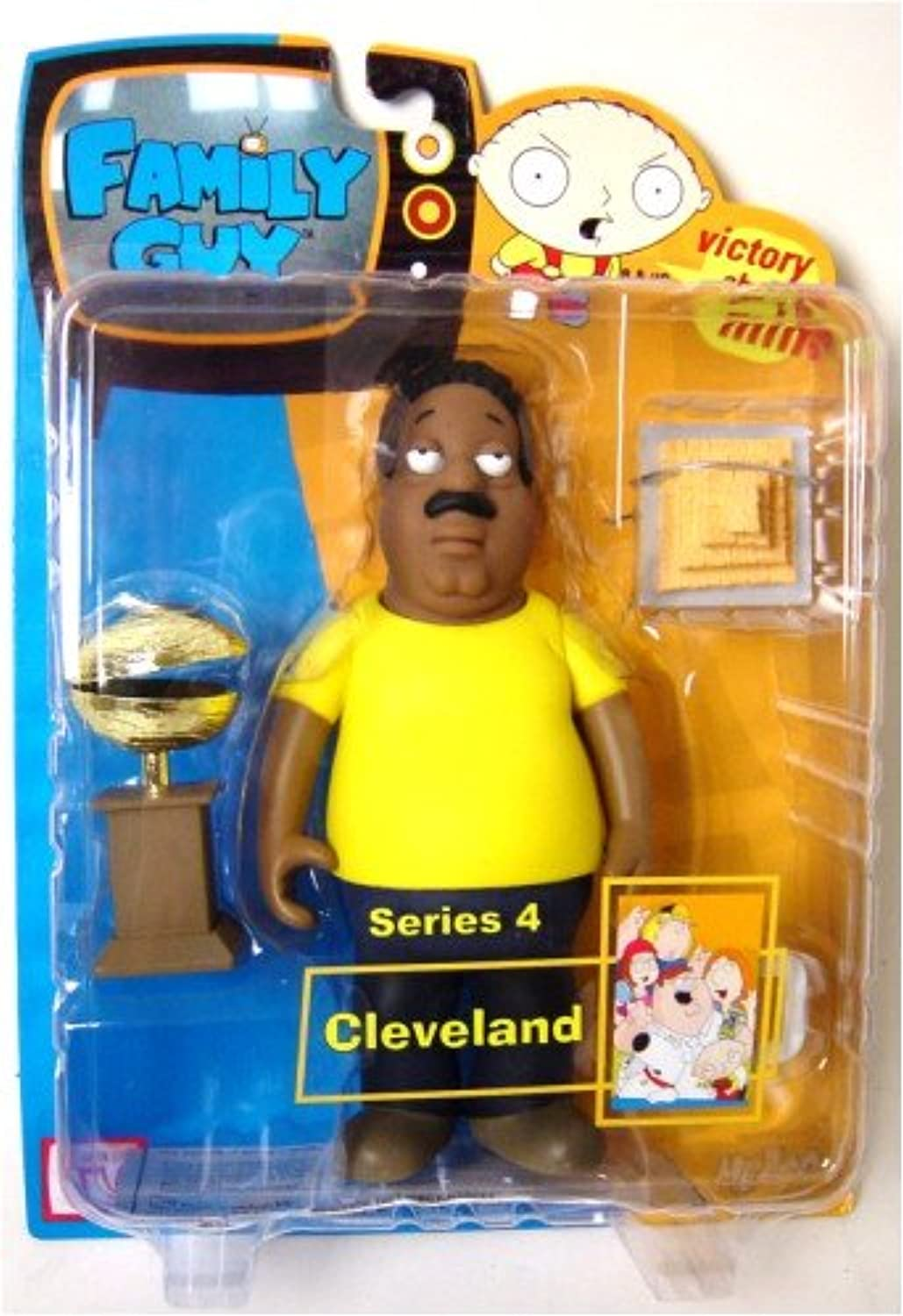 Family Guy Figures Series 4  15cm Cleveland