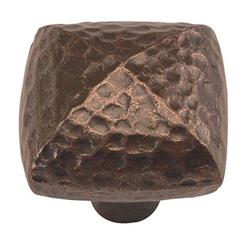 Hickory Hardware Mountain Lodge 1-1/4' Knob - Dark Antique Copper (P3062-DAC)