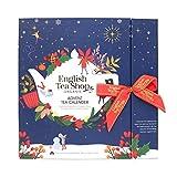 English Tea Shop - Teebuch Adventskalender 'Christmas Night', 25 Boxen mit BIO-Tees in hochwertigen...