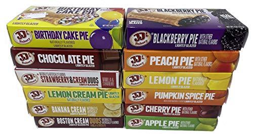 JJ#039s Bakery Pie Ultimate Variety Pack | 12 Flavors | 12 Pack