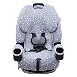 JANABEBE Cover - Liner Compatible with Car Seat Graco 4Ever (White Star)