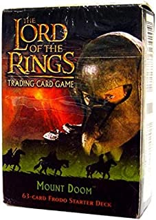 Lord of the Rings Card Game Theme Starter Deck Mount Doom Frodo