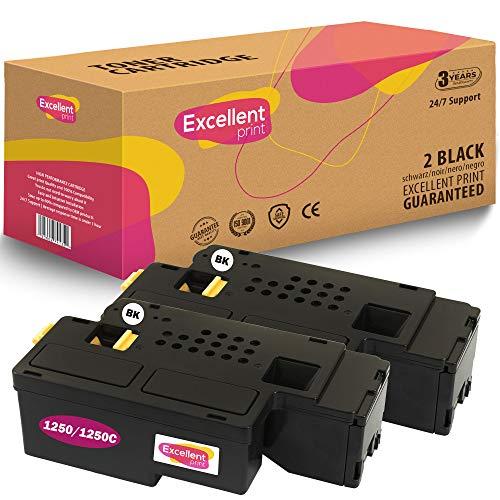 Excellent Print 1250 1250C Compatible Cartucho de Toner para DELL 1250c 1350cnw C1765 C1760