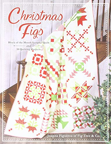 It's Sew Emma Christmas Figs Block Of The Month Book