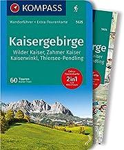 Kaisergebirge: Wandelgids met overzichtskaart: Wanderführer mit Extra-Tourenkarte 1:35.000, 60 Touren, GPX-Daten zum Download: 5625