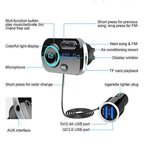 Sonru Bluetooth FM Transmitter