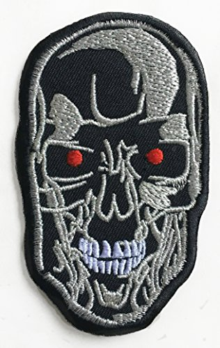Terminator Patch (Sew or Iron On) Cyborg T-800 Robot