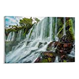 Iguazu Falls Poster dekorative Malerei Leinwand Wandkunst