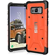 UAG Samsung Galaxy S8 [5.8-inch Screen] Pathfinder Feather-Light Rugged [Rust] Military Drop Tested Phone Case