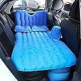 Auto Luftmatratze Reisebett Aufblasbare Matratze Luftbett Aufblasbare Auto Bett Auto Rücksitzbezug Aufblasbare Sofakissen (Blau) DEjasnyfall