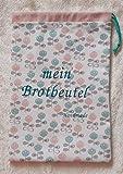 Brotbeutel für den täglichen Bedarf 24,5x37 cm mit floralem Muster