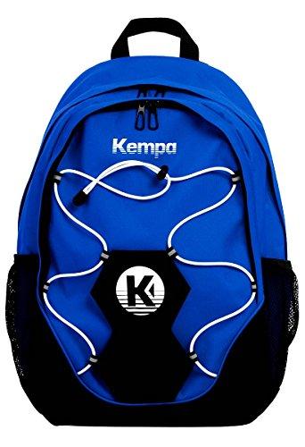 Kempa Rucksack mit Ballnetz für Fußball, Handball, Volleyball, Basketball + gratis Trinkflasche