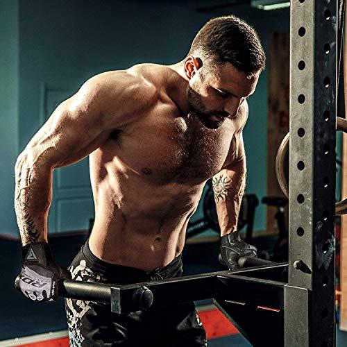 RDX Fitness Handschuhe Trainingshandschuhe - 3