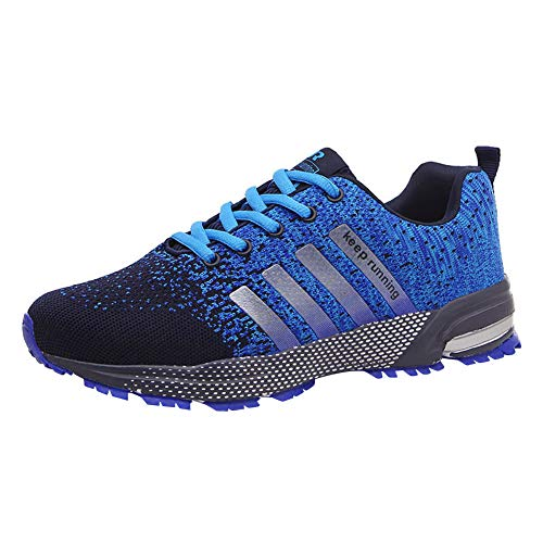 Zapatillas deportivas de malla ligera para mujer, color Azul, talla 42 2/3 EU