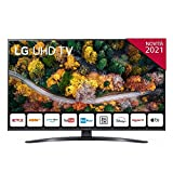LG 43UP78003 SMART TV 4K Ultra HD 43' 2021 Processore Quad Core 4K, Wi-Fi, webOS 6.0, Google Assistant e Alexa Integrati, Telecomando Puntatore [Certificazione Tivùon! / Tivùsat, Lativù 4K]