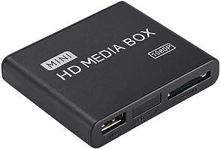 Vbestlife Reproductor Multimedia Media Player 100Mbps Soporte H.264 (MKV, MOV, AVI, M2TS, TP, TRP, IFO, ISO,) / WMV9 / VC-1 a 1080P Fuente de Alimentación, Apoyo Múltiples Idiomas