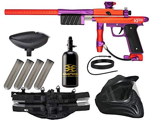 Action Village Azodin KP3 Legendary Paintball Gun Package Kit (Orange/Purple)