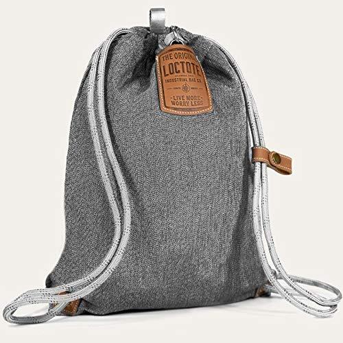 loctote Flak Sack Sport New 2020 - Vintage Grey - Diebstahl Schutz Tasche mit Schloss